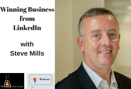 Winning Business from LinkedIn with Steve Mills