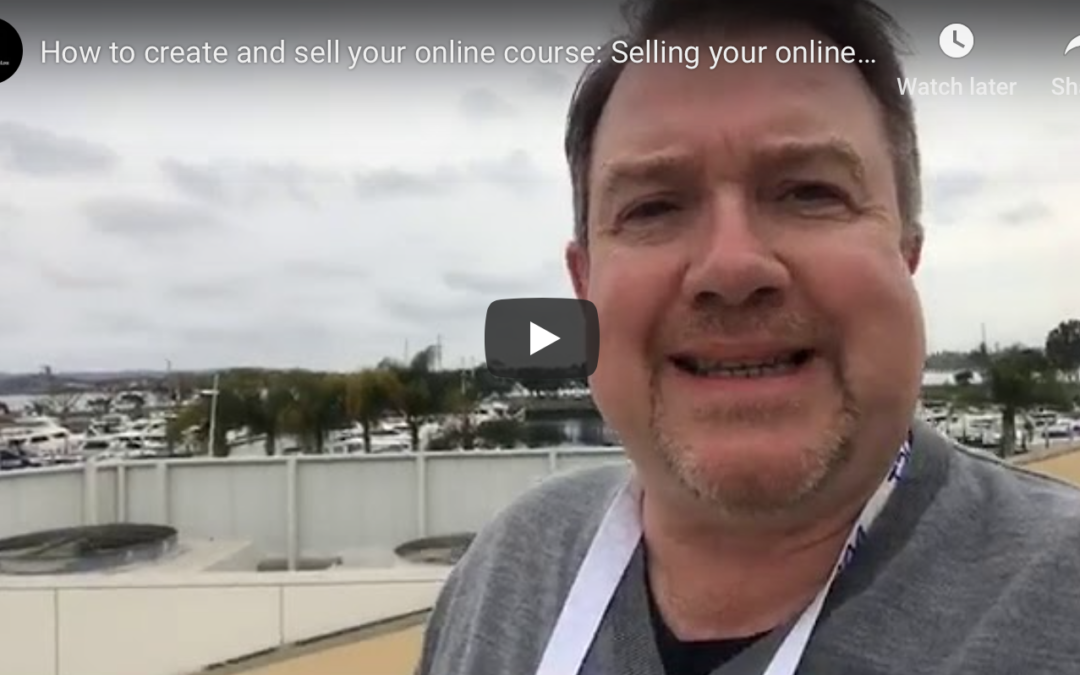 Selling your online course